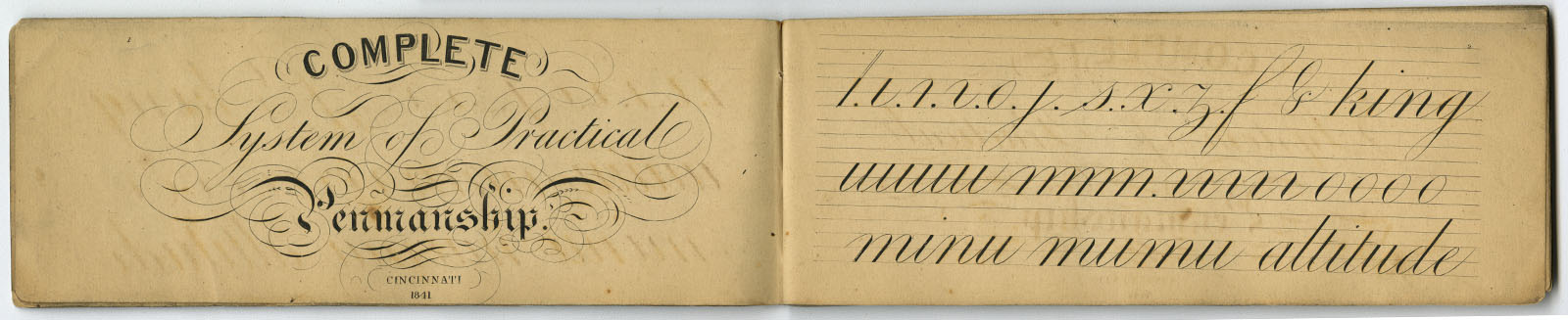 Complete System of Practical Penmanship (Cincinnati, 1841).