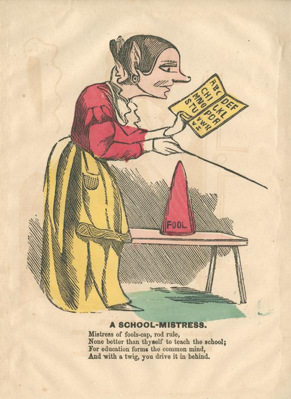 A School-Mistress.
