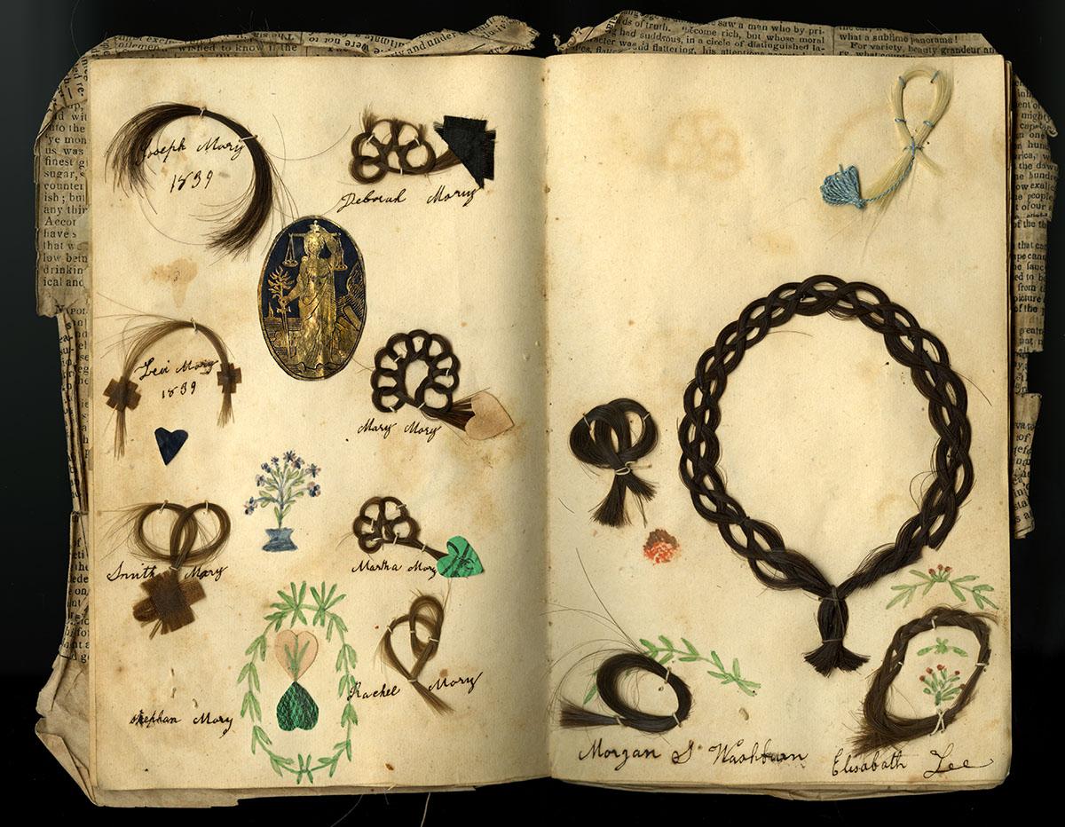 Margaret Williams' friendship album, 1839.