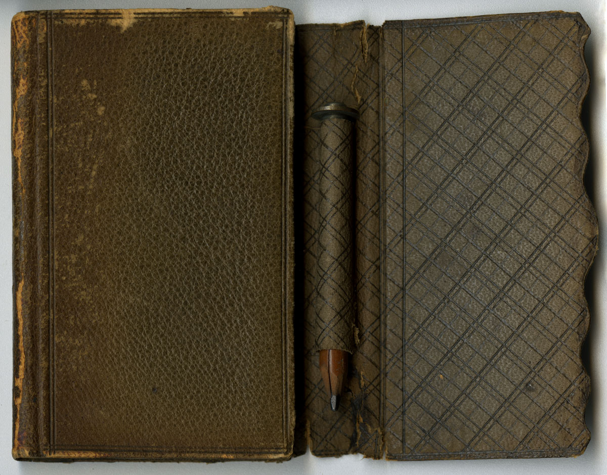 Pocket Diary for 1862 (New York, 1861). Gift of the Heirs of Helen Beitler.