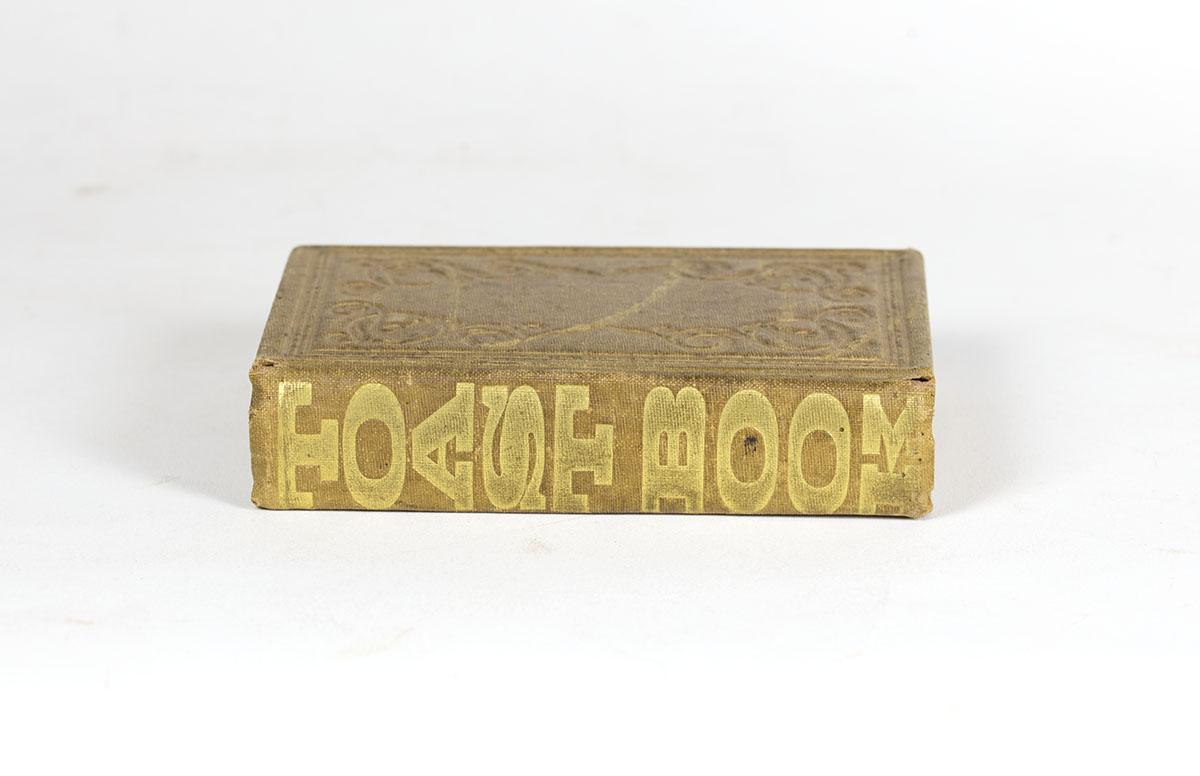 Every Body's Toast Book (Philadelphia, 1851). Michael Zinman Binding Collection.