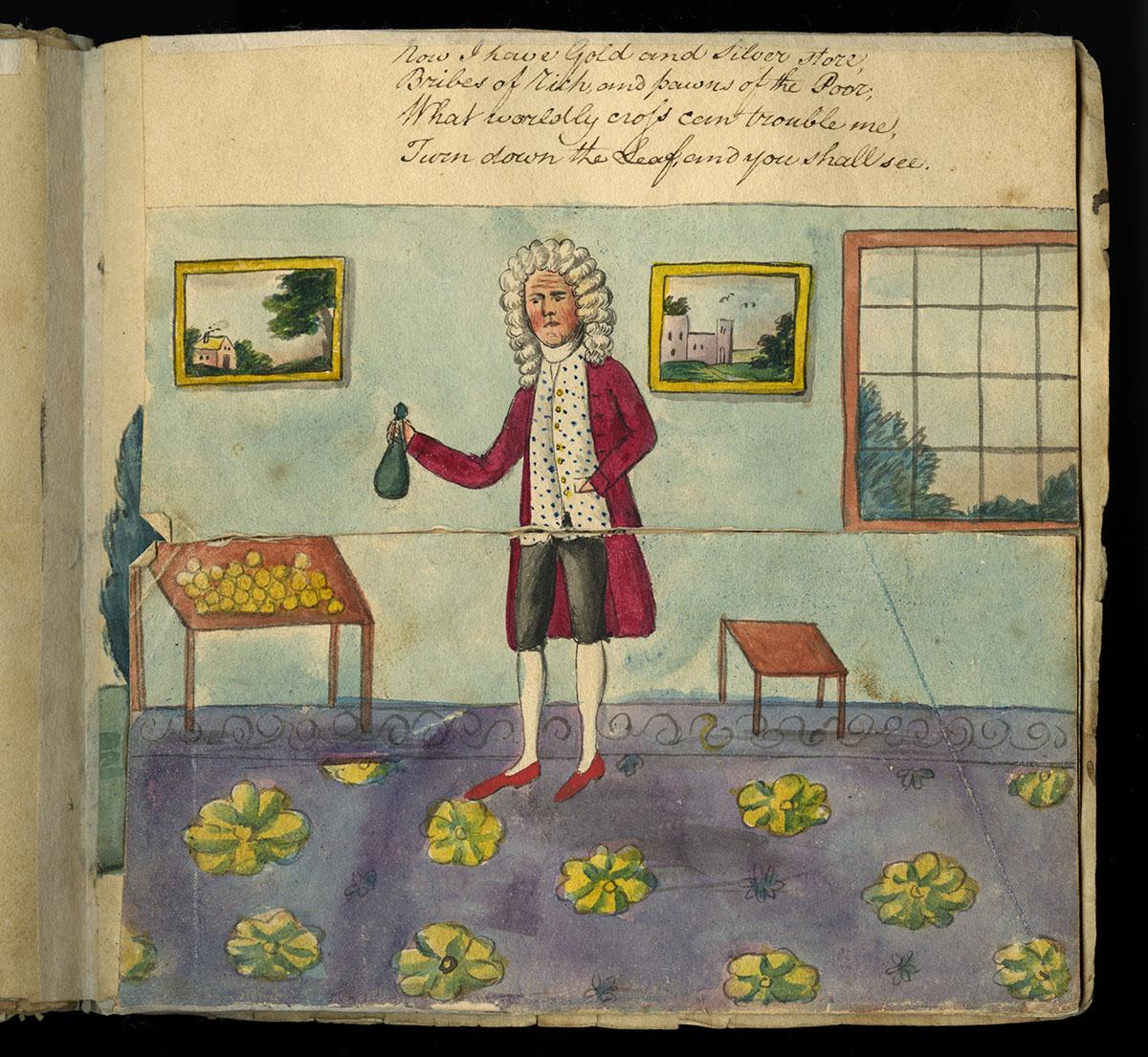 Benjamin Sands, Metamorphosis, or, A Transformation of Pictures (United States?, 1802).