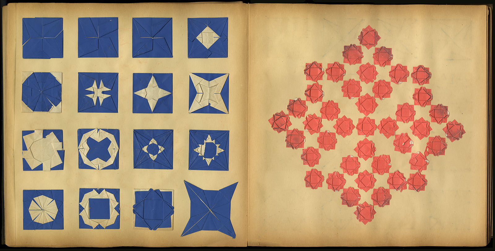 Daisy Lowengrund, Portfolio of Colored Paper Cut-outs (ca. 1885). Gift of Mr. and Mrs. Robert Bendiner.