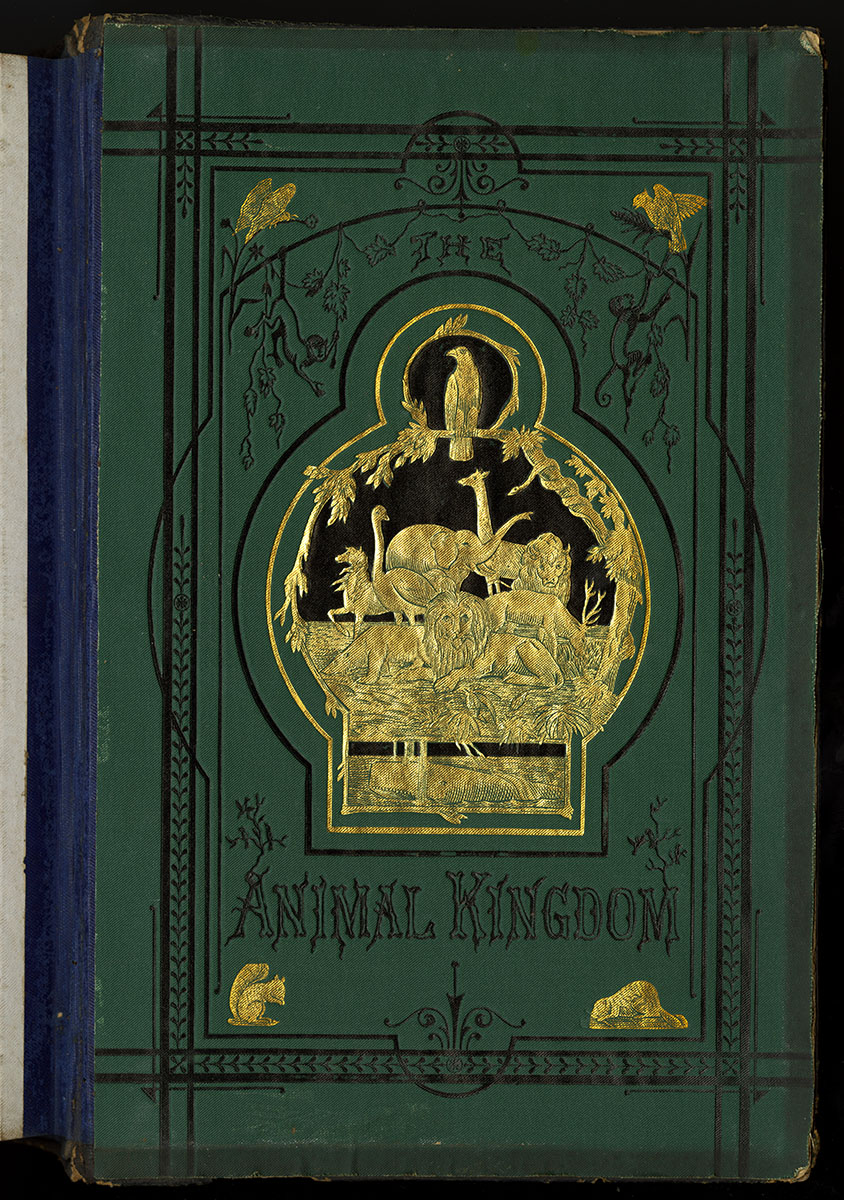 The Animal Kingdom (Philadelphia, 1880). Canvassing book.