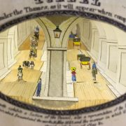 A View of the Tunnel under the Thames (London, 1828).