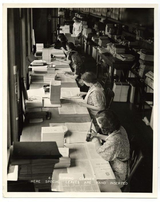Interior views of A.J. Holman and Company (Philadelphia, ca. 1935).