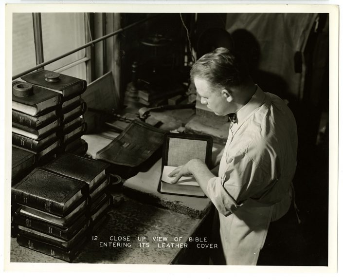 Interior views of A.J. Holman and Company (Philadelphia, ca. 1935). Gelatin silver photographs. Gift of Joseph Kelly.